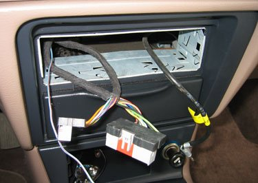 Install Plate on Car Audio Capacitor Wiring