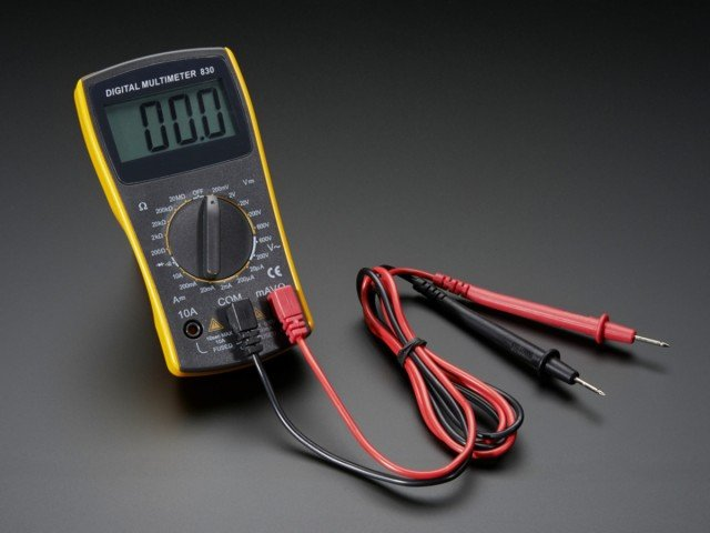 how to Car Amplifier with a Multimeter