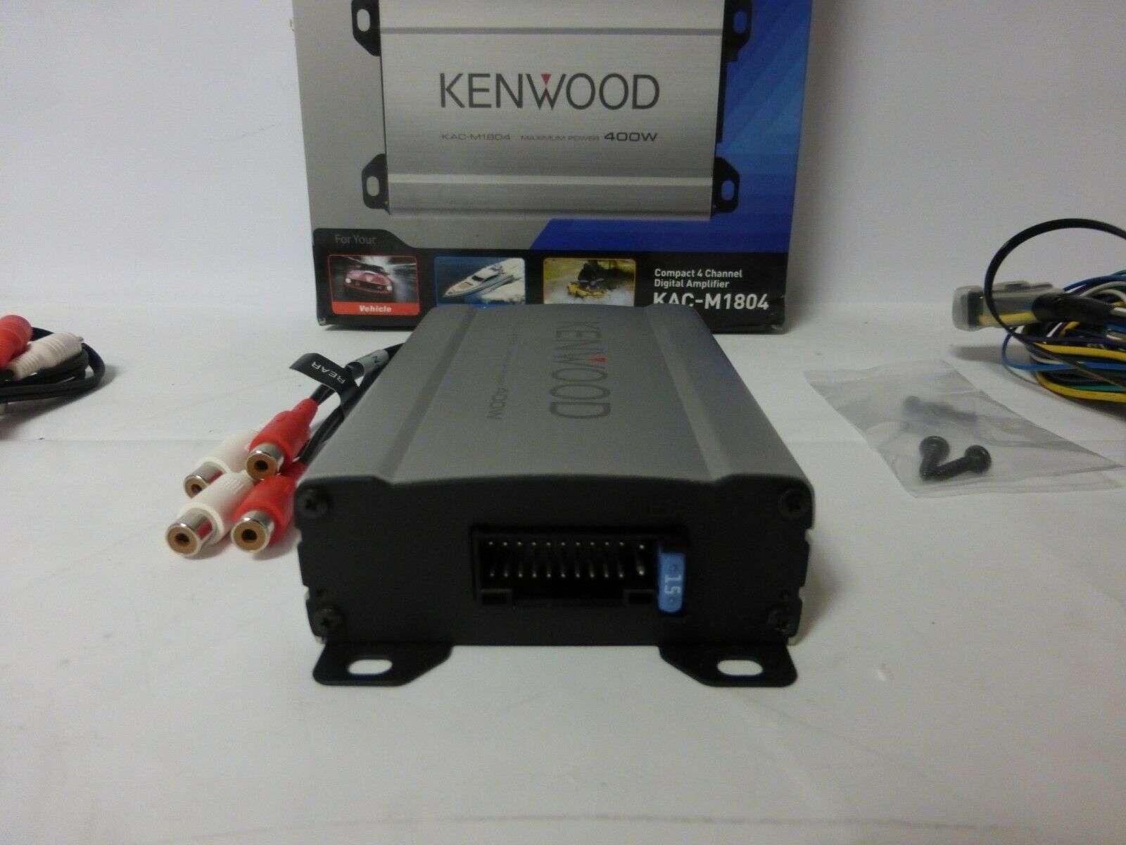 Kenwood KAC-M1804 Review